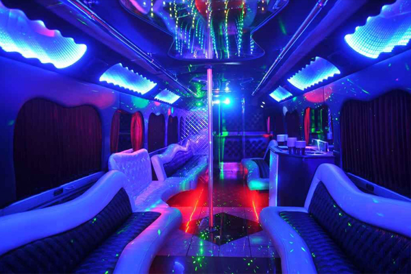 18 Passenger Party Bus Rental Fort Smith