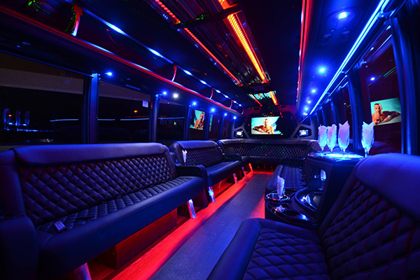 40 Passenger Party Bus Rental Fort Smith