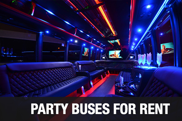 Party Buses For Rent Fort Smith